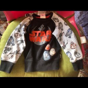 Toddler star wars sweater size 2t used